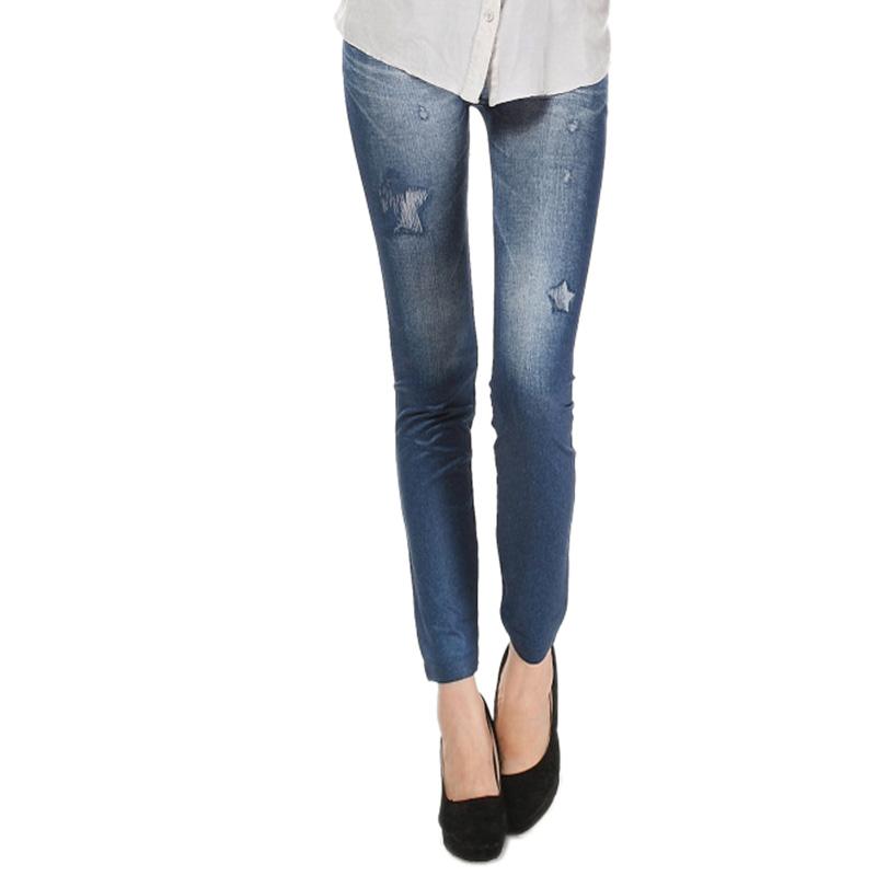 Comfortable Skinny Pants Denim Legins Women Fashion Sexy Women Jean Skinny Leggings Stretchy Slim Leggings 17