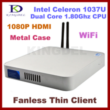Widely Used thin client computer Nettop,Dual core Intel Celeron 1037U 1.8Ghz,2GB Ram,500GB HDD,HDMI, WIFI,Windows 7,3D Game
