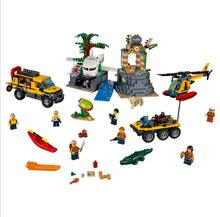 Lepin 60161 City Series Jungle Relics Exploration Site Assembled Toys Bricks Set Building Blocks Toys For Children(China)