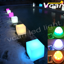 DHL Free Shipping Factory Wholesale 38LEDs RGBW Rechargable led lighting furniture outdoor led furniture