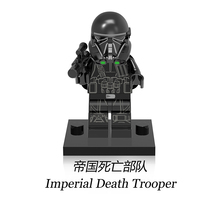 XH454 Imperial Death trooper Starwars Rogue One Mini Toys Single Sale Military Intelligence Models Building Blocks Toy for Child