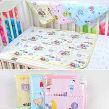 Hot Sale Baby Girls Boys Child Cotton Soft Cute Urine Pad Infant Diaper Waterproof Bedding Changing Cover Pad For Baby