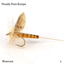 Best Quality Realistic Sulphur Fishing Flies Trout Super Sturdy Real Insect Flies From Europe(China)