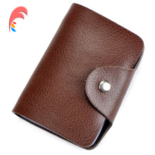 Buy Women Credit Card Holder 100% Genuine Leather Men ID Wallet Purse Vintage Bank Business Card Holder Protector Organizer for $4.98 in AliExpress store