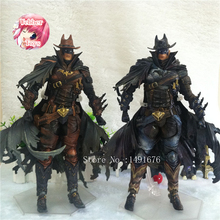2styles West Cowboy Batman Play Arts Kai Action Figure PVC Toys 27cm Anime Movie Model West Cowboy Bat Man Playarts Kai