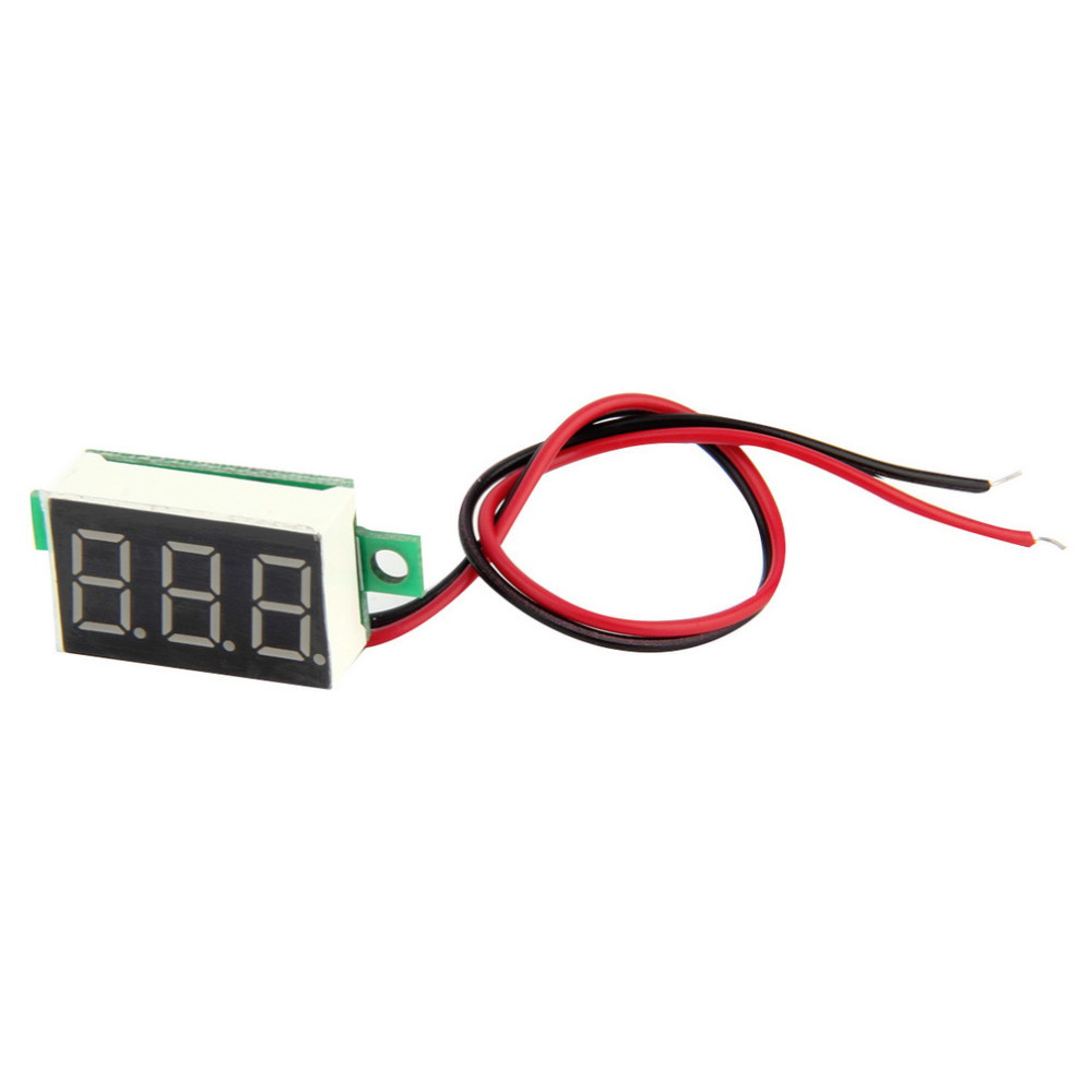 Detail Feedback Questions About 2pc Lcd Digital Voltmeter Ammeter Wiring Getsubject Aeproduct