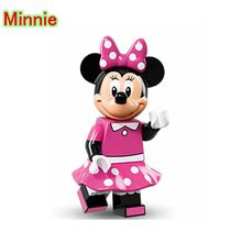 Minnie Mouse DIY blocks Single Sale Cartoon Cute Animal Building Blocks & Models Animal Toys For Children D892
