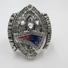 2004 World American Football The Finals Championship New England Patriots World Rugby Champion Ring Sport Jewelry