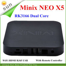 Original MINIX NEO X5 RK3066 Dual Core Cortex A9 Google Android TV Box 1GB/16GB Bluetooth HDMI Internet Smart TV Box with Remote