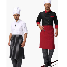 LIOPEAN 68x68cm Chef Aprons Kitchen Restaurant Cooking Waist Aprons With Pocket Work Apron Waiter Kitchen BBQ Apron Cook Tool