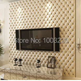 Leather Wall Paper Soft Bag Luxury Super Quality Wallpapers for Living Room TV Background Paper Vintage Home Decor.papel de pare<br><br>Aliexpress