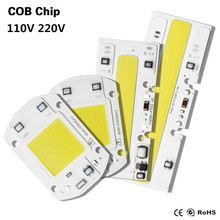 COB Chip Led Light AC220V 110V Integrated Lamp 30W 50W No Flick + Smart IC Drive Floodlight White / Warm Projector DIY Spotlight(China)