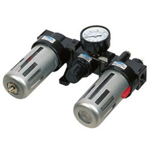 Free Shipping Airtac 3/8 BC3000 Air Source Treatment Unit Regulator+Filter+Lubircator Three Units 5pcs In Lot<br>