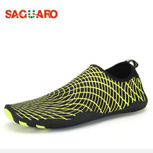 New Men Women Sport Water Shoes Quick Drying Skin Shoes Beach Diving Socks Yoga Sneakers Swim Surf Barefoot Aqua schwimm Schuhe(China)