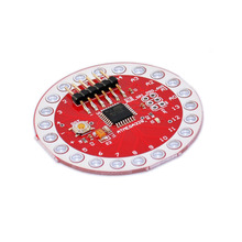 Free shipping! keyes Wearable ATmega328 MCU Development Board for Arduino Lily pad(China)