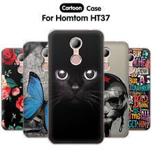 Buy EiiMoo Phone Capa Funda Homtom HT37 Case Silicone Protective Cartoon Print Soft TPU Back Cover Homtom HT37 Case Cover for $2.14 in AliExpress store
