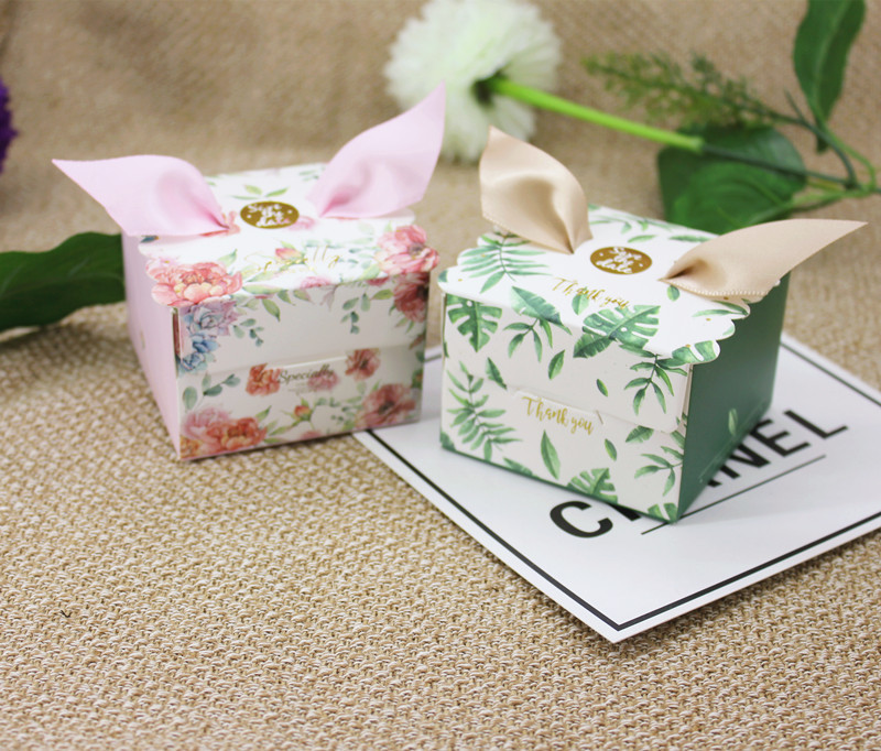 Multicolor Angel Candy Box Wedding Favor and Gift Box Sweet Paper Bags for Wedding Decoration Baby Shower Event Party Supplies (5)