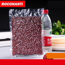 100PCS 2017 High Quality PA+PE Food Grade Hand Vacuum Bag roll Roll Up Space Saver Bag Travel Vacuum Compression Bag