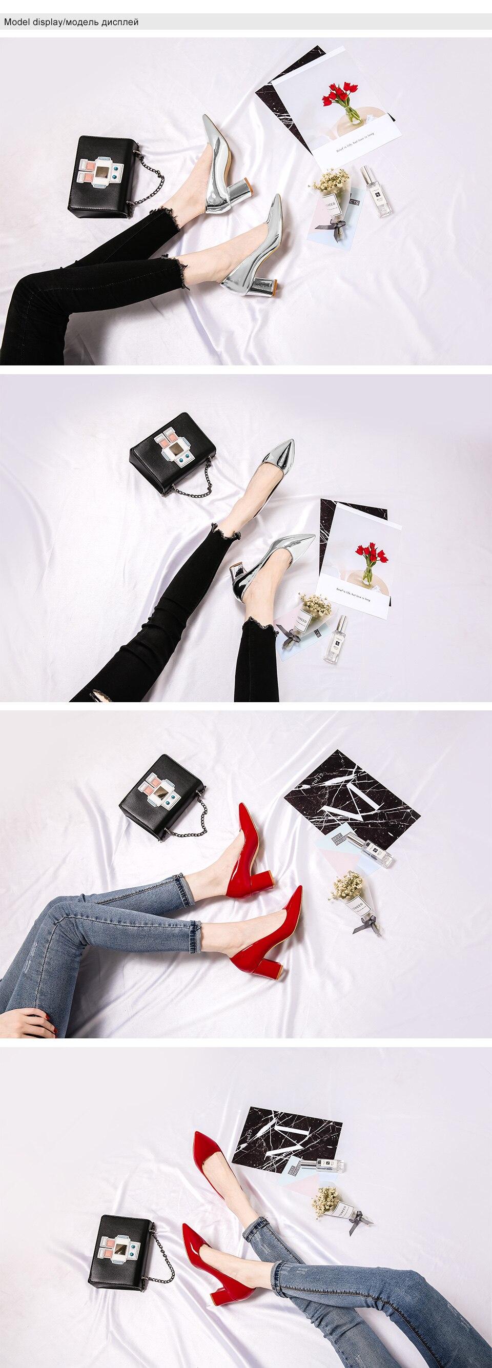 5 high heels