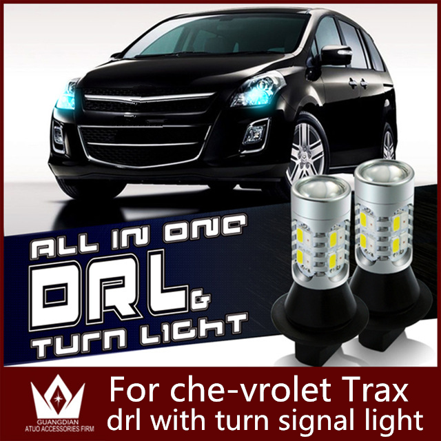 Guang Dian car led light daytime running light &amp; Front Turn Signals light Car drl led Winker 20W T20 7440 WY21W For Trax<br><br>Aliexpress