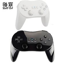 HAOBA Classic Wired Game Controller Gaming Remote Pro Gamepad Shock Joypad Joystick For Wii Second-generation(China)