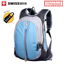 Swisswin School Backpack for Teenagers Girls Boys Waterproof Travel Bag Swiss 13.3 inch Laptop Backpack Gear Backpack Male(China)