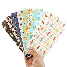 5pcs 175*85mm cartoon series paper Envelopes card bag gift bag office school supplies(China)