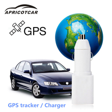 Satellite Car Real-time Positioning GPS Micro-tracker GSM GPRS System Car Anti-theft Tracker Mini Device Car Charger Alarm New(China)