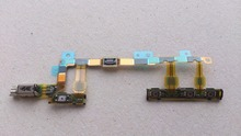 For Xperia Z3 Compact  D5803 D5833 Volume Button Vibration Motor and Power Switch Flex Cable