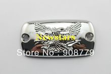 Brand New Chrome Brake Fluid Reservoir Cap For Honda Valkyrie Goldwing 1500 1800 VTX 1800(China)