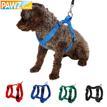 Pet Harness Nylon Adjustable Safety Control Restraint Cat Puppy Dog Harness Soft Walk Vest Large Dog 3 Colors Animals Harness