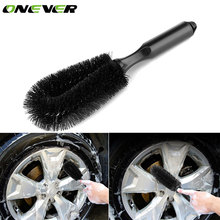 Onever Car Wheel Brush Tire Hub Rim Scrub Washing Brush Vehicle Cleaning Scrub Brush Cleaning Tools Truck Motorcycle Bike Brush(China)