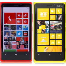 2016 Top Fashion Real Nokia Lumia 920 Windows 3G/4G 1GB RAM 32GB ROM 8.7MP GPS WIFI Bluetooth Original Unlocked Full set phone(China)
