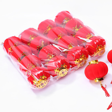 Hot sale (4pcs/pack) Red Traditional Chinese Lanterns,Festival/ Wedding/ Party Decorations/Birthday party Mini Layout Lantern(China)