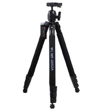 Weifeng Professional WF-6662A DV Video SLR Tripod Stand w/ Ballhead Photographic Equipment 6662A for Canon Nikon DSLR Camera