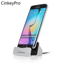 CinkeyPro Desktop Charger Dock Station Micro USB Sync Adapter Smart Phone Charging Device For Android Phone Universal Samsung