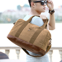 Hot! Men And Women's Travel Duffle Canvas Travel Bag Male Casual Luggage Bags Large Thicken Canvas Tote Shoulder Bags Men DB77