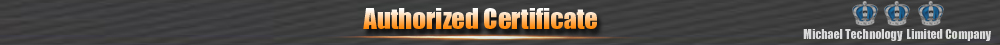 Authorized Certificate