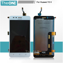 For Huawei Y3 ii LCD Display and Touch Screen 4.5inch Screen Digitizer Assembly Replacement For Huawei Y3 ii 3G Version only