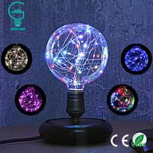 Buy E27 Vintage Design Fairy LED Bulb 110V/220V G95 RGB String Light Filament LED Lamp Decor Christmas Holiday Wedding lighting for $5.97 in AliExpress store