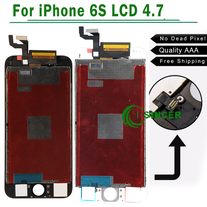 3PCS/LOT No Dead Pixel ForiPhone 6S LCD Display With Touch Screen Digitizer Assembly Free Shipping<br>