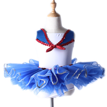 New Children 's Navy Ballet Dance Skirt Practice Uniforms Professional Adult Stage Performance Service Dance Costumes(China)