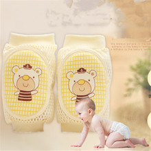 1 pairs kids Newborn boys&girls cute cartoon soft cotton Leg Warmers breathable comfortable baby's short kneepad protection(China)