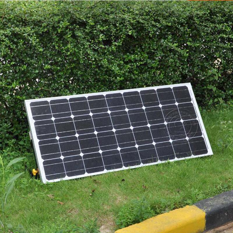 Solar Panel Kit Panneaux Solaires 12V 100W Solar Charge Battery Solar Plate Bracket Mount Marine Yacht Home Garden LED Lamps(China)