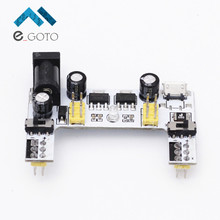 MB102 Micro USB Interface Breadboard Power Supply Module White 5V 3.3V 2 Channel Board MB-102 For Arduino