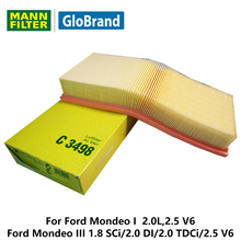 MANNFILTER car air Filter C3498 for Ford Mondeo I 2.0L2.5 V6/Ford Mondeo III 1.8 SCi/2.0 DI/2.0 TDCi/2.5 V6 auto parts  sc 1 st  AliExpress.com & Compare Prices on Ford Mondeo Car Parts- Online Shopping/Buy Low ... markmcfarlin.com