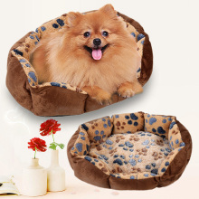 35*26*10cm Soft Fleece Dog Bed for Small Dogs Cat House Winter Puppy Mat Warm Pet Bed Supply