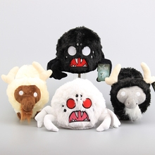 Game Toys 4 Styles Do not Starve Shadow Beefalo Hissing Spider White Black Color Plush Toy Stuffed Animals 23- 26 CM