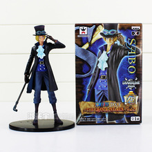 "7"" 15CM Anime One Piece DXF Sabo 15th Anniversary Boxed PVC Action Figure Collectible Model Toy"