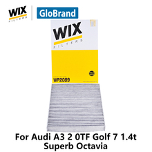 WiX Car Cabin Filter For Audi A3 2 0TF VW Golf 7 1.4t SKODA Superb Octavia WP2089 activated carbon auto part